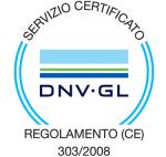 certificazioni regolamento (ce) 303/2008