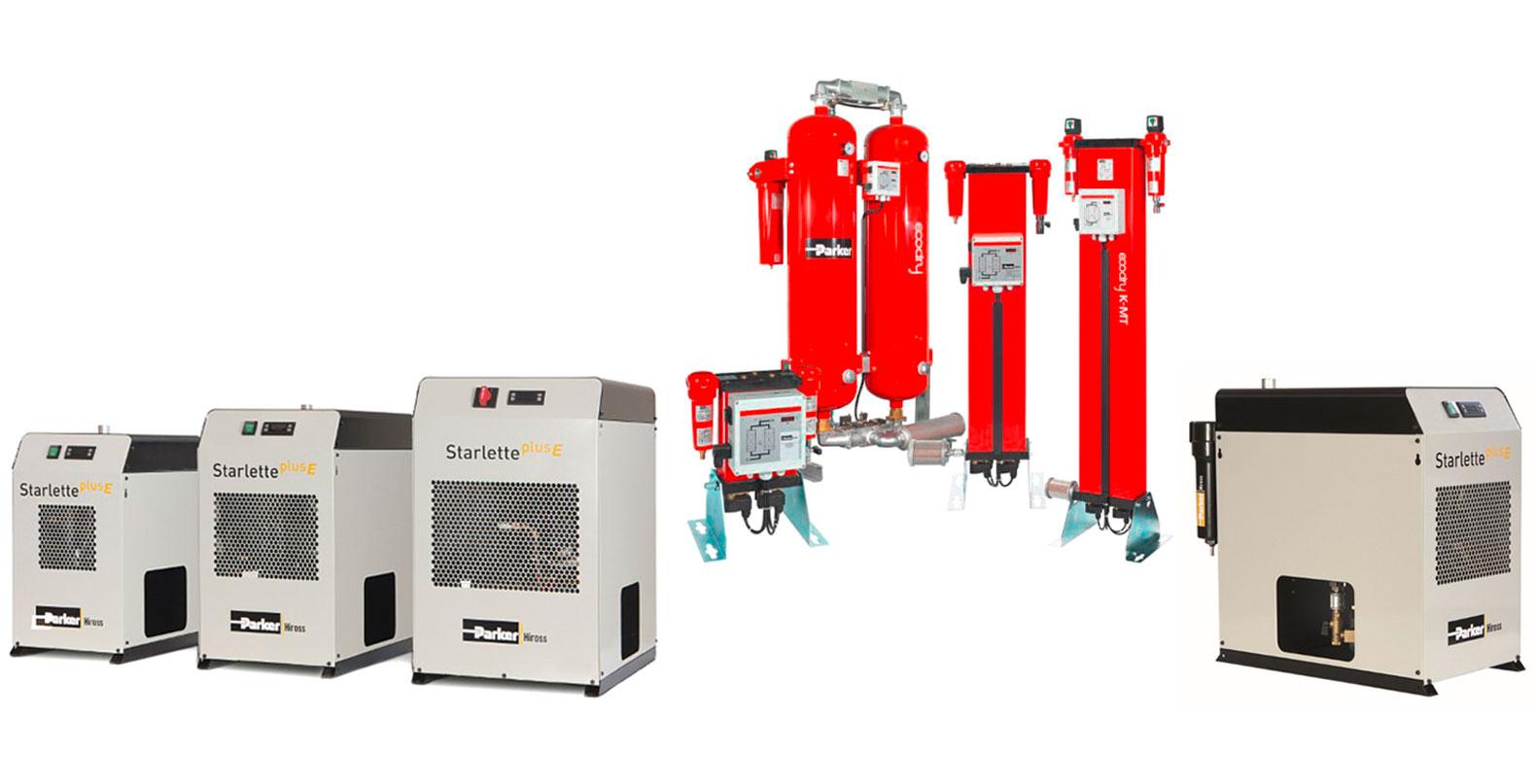 essiccamento e refrigerazione aria parker